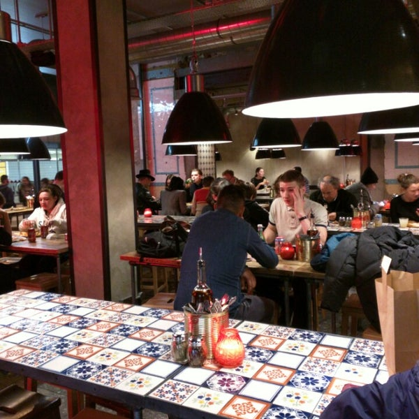 Cool Places In London For Lunch: Pizza Place In London