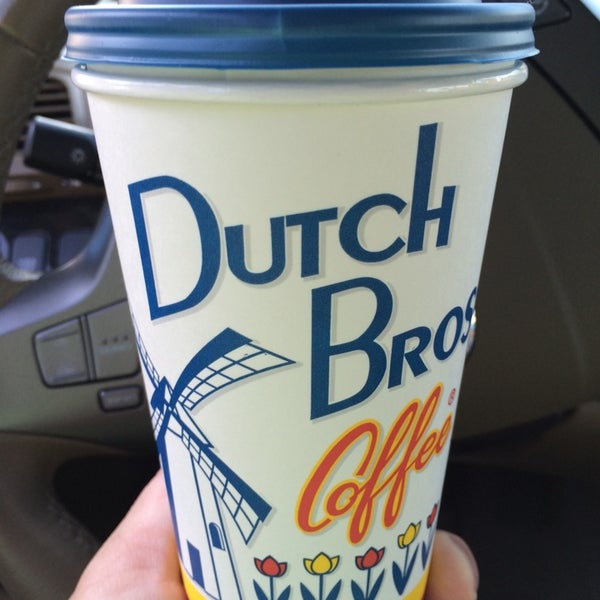 Photo taken at Dutch Bros. Coffee by Russell M. on 8/27/2014