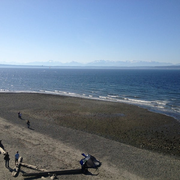 Photo taken at Carkeek Park by Stephen E. on 3/30/2013