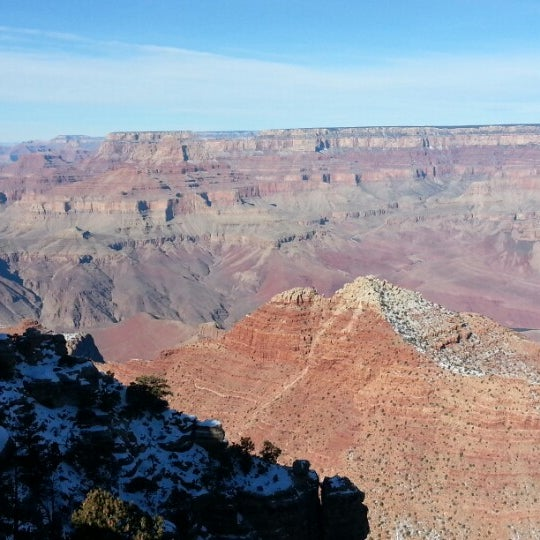 Photo taken at Grand Canyon National Park by Alex S. on 1/8/2013