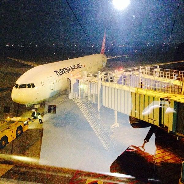 Photo taken at Tan Son Nhat International Airport (SGN) by Michael Mark Gabriel Q. on 10/30/2013