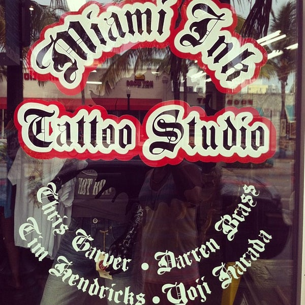 photos at miami ink tattoo studio tattoo parlor in miami