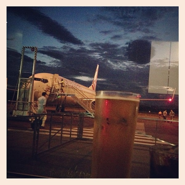 Photo taken at Gold Coast Airport (OOL) by James I. on 2/1/2013