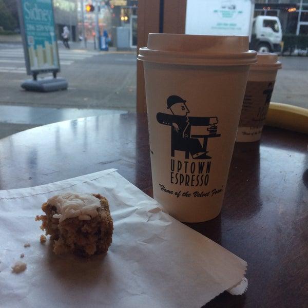 Photo taken at Uptown Espresso by Rain T. on 12/7/2016