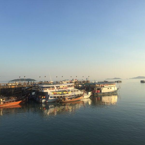 Photo taken at Ao Por Pier by Irfan on 1/9/2016