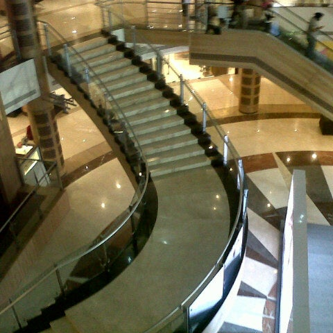 Photo taken at Inorbit Mall by Bhadra S. on 3/8/2013