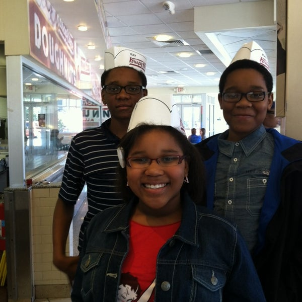 Photo taken at Krispy Kreme Doughnuts by Michele O. on 3/9/2014