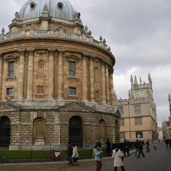 Photo taken at Radcliffe Camera by Andreas S. on 5/21/2015