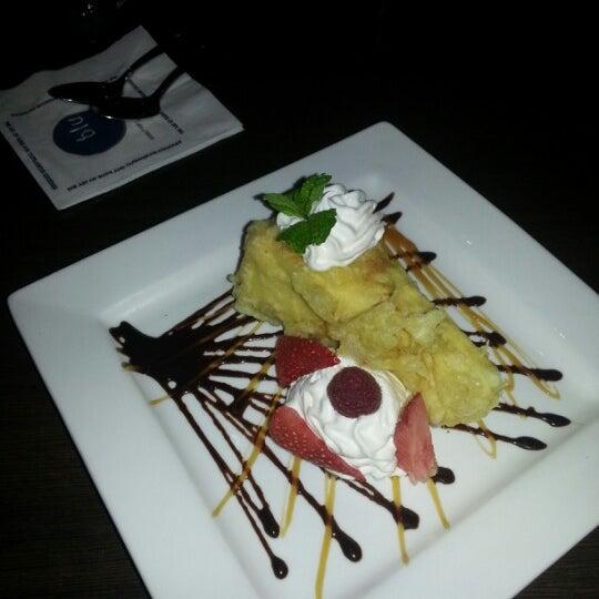 Photo taken at Blu Sushi by Kristy W. on 12/23/2012