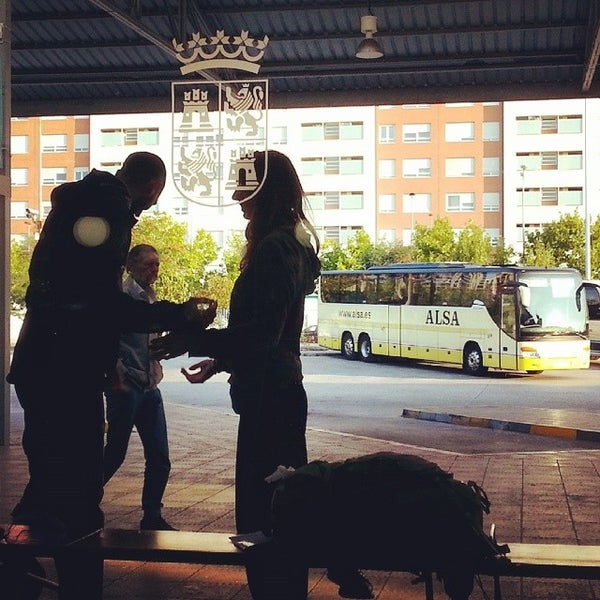 Photo taken at Estación Autobuses de Ponferrada by Luis F. on 8/15/2014