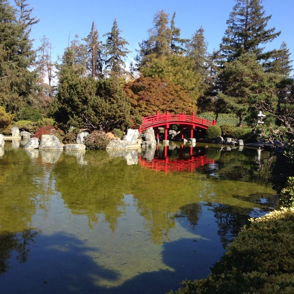 Photo taken at Japanese Friendship Garden by Bulent C. on 11/9/2013