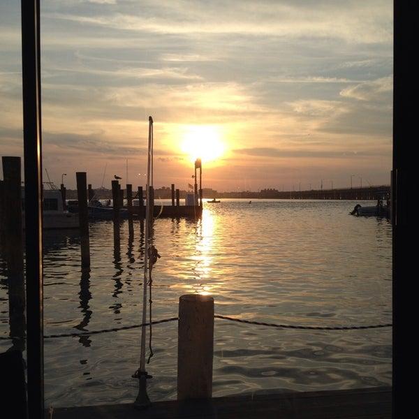 Photo taken at Marina Deck Resturant by Tumbleweed & Eddie's, T. on 5/26/2014