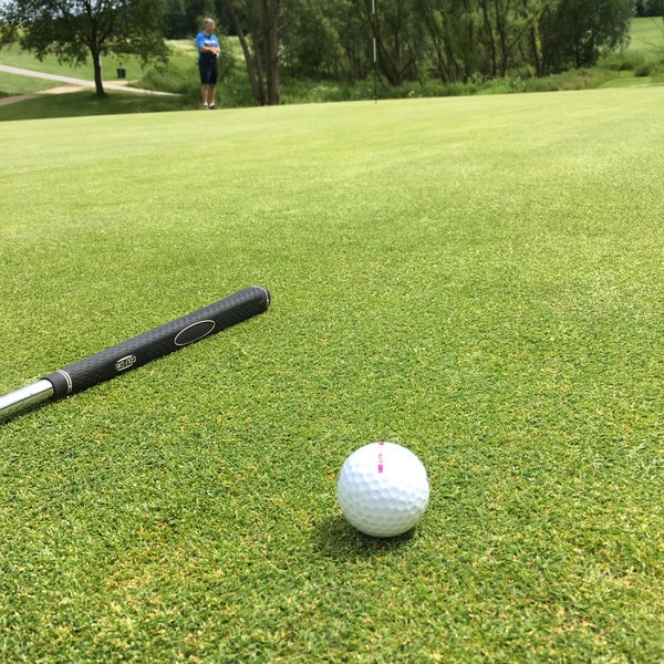 Photo taken at Ypsilon Golf Resort Liberec by Kristina 💋 Š. on 6/16/2016