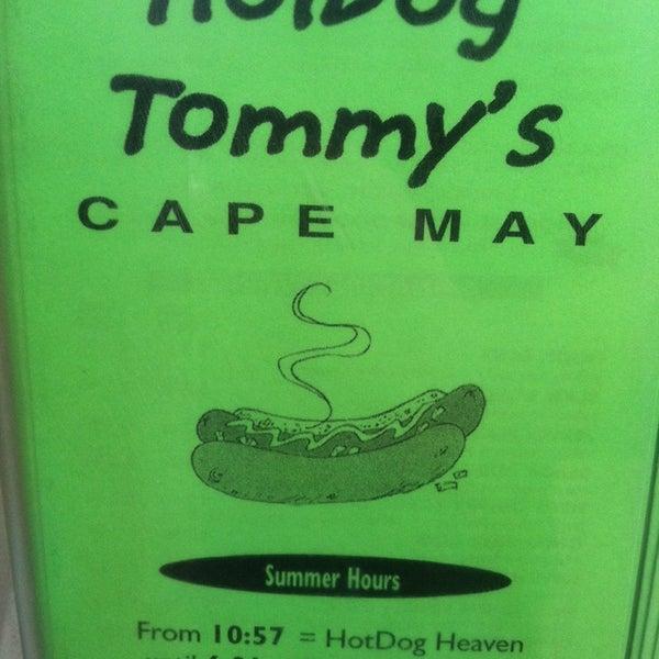 Photo taken at Hotdog Tommy's by Brett B. on 7/4/2014