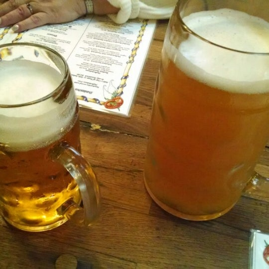 Photo taken at Hofbräuhaus Newport by Chad C. on 12/21/2013