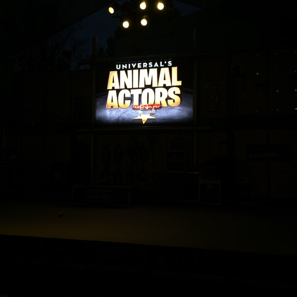 Photo taken at Universal's Animal Actors by Lucas M. on 1/12/2015
