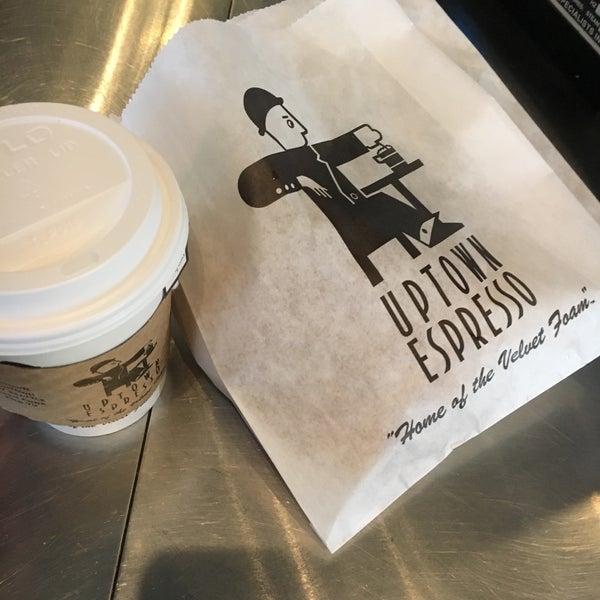 Photo taken at Uptown Espresso by Ann C. on 1/2/2017