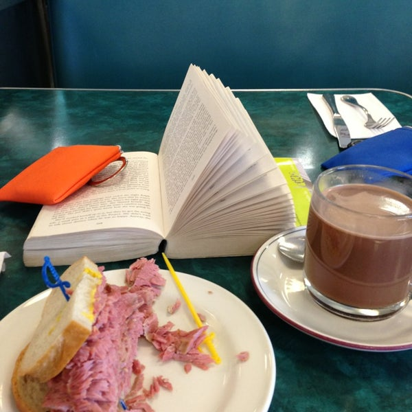 Photo taken at Centre Street Deli by Cindy A. on 3/26/2013