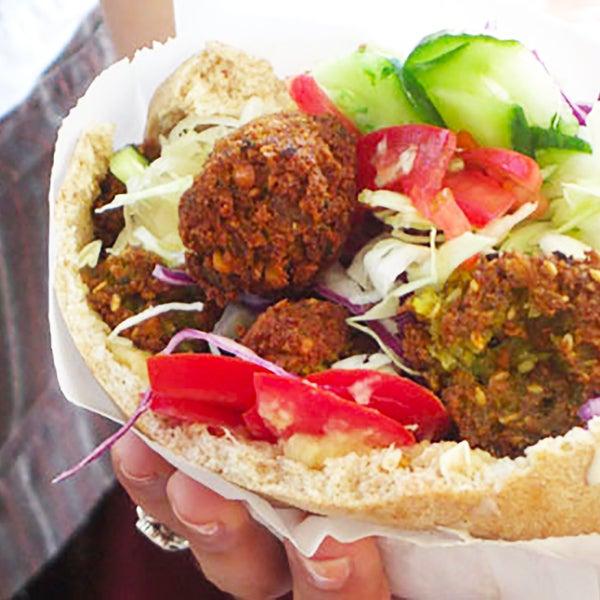 The flying falafel falafel restaurant in san francisco - Cuisine bernard falafel ...