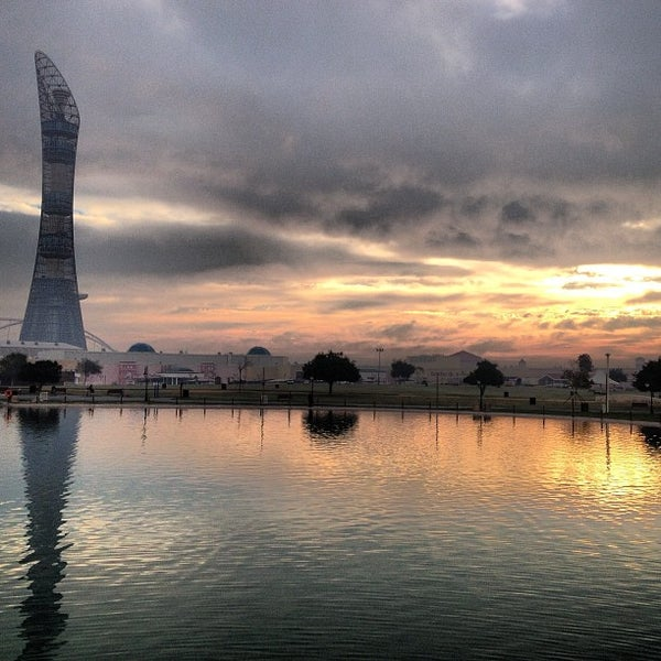Photo taken at Aspire Park | حديقة اسباير by mohammed l. on 2/12/2013