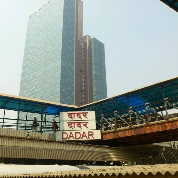 Photo taken at Dadar Railway Station by Saif K. on 2/14/2013