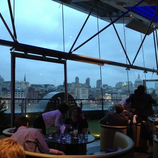 Photo taken at OXO Tower Brasserie by Nicky K. on 12/31/2012