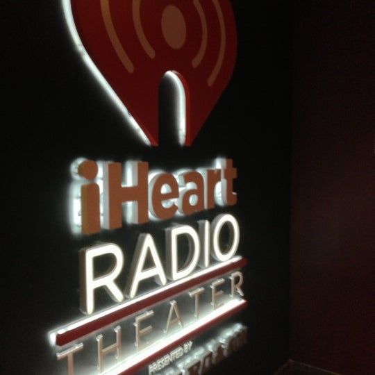 Photo taken at iHeartRadio Theater by Chelle . on 10/3/2012