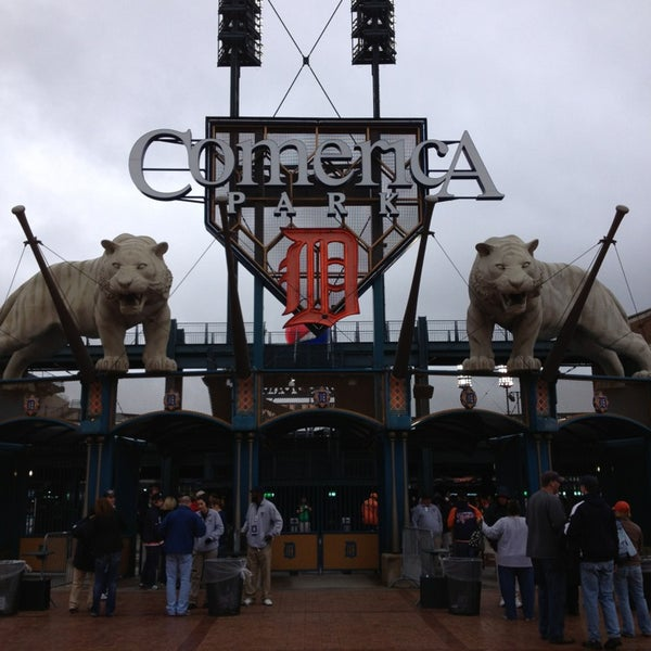 Photo taken at Comerica Park by Chris T. on 5/23/2013
