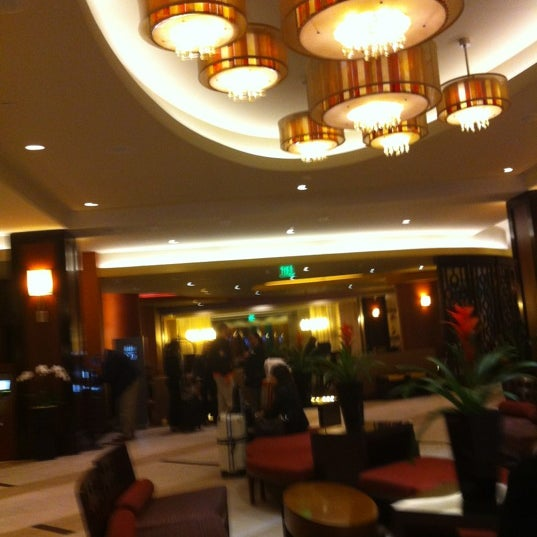 Photo taken at San Francisco Marriott Marquis by Amanda P. on 10/24/2012