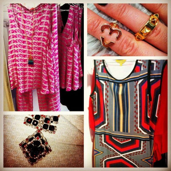 Photo taken at ISA boutique by Kelly S. on 12/4/2012