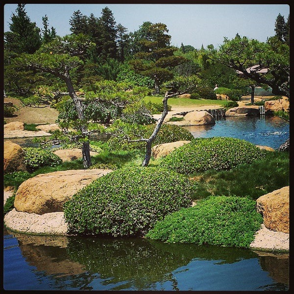 The Japanese Garden At Tillman Water Reclamation Garden In Van Nuys