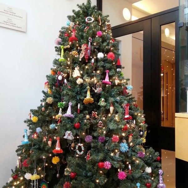 Photo taken at Ukrainian Museum by Kim L. on 12/8/2013