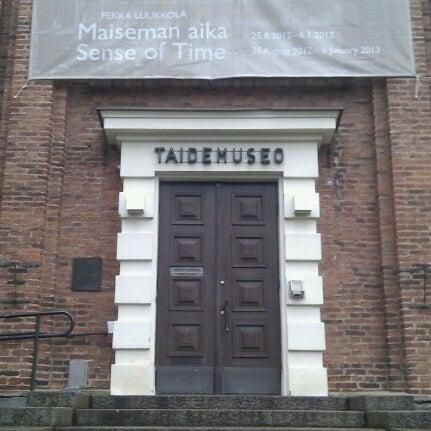 Tampereen taidemuseo - Puutarhakatu 34