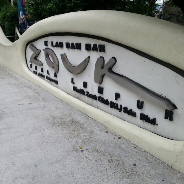 Photo taken at Zouk Club Kuala Lumpur by A H. on 10/25/2013