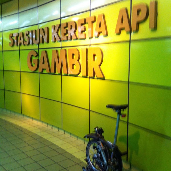 Photo taken at Stasiun Gambir by A H. on 12/18/2015