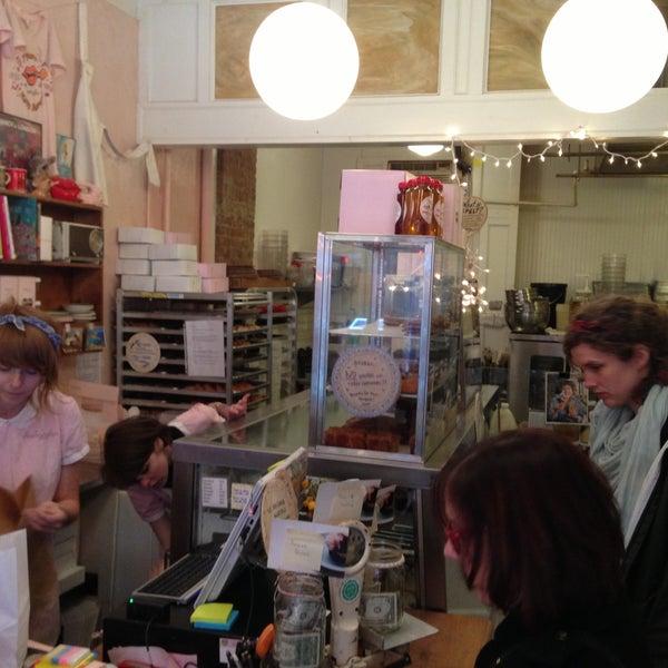 Photo taken at Erin McKenna's Bakery by Humphrey C. on 4/13/2013