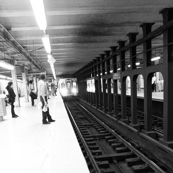 Photo taken at SEPTA: 15th Street Station (MFL/TRL) by Joe S. on 8/24/2013