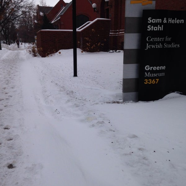 Photo taken at UWM Curtin Hall by Sarah S. on 2/5/2014