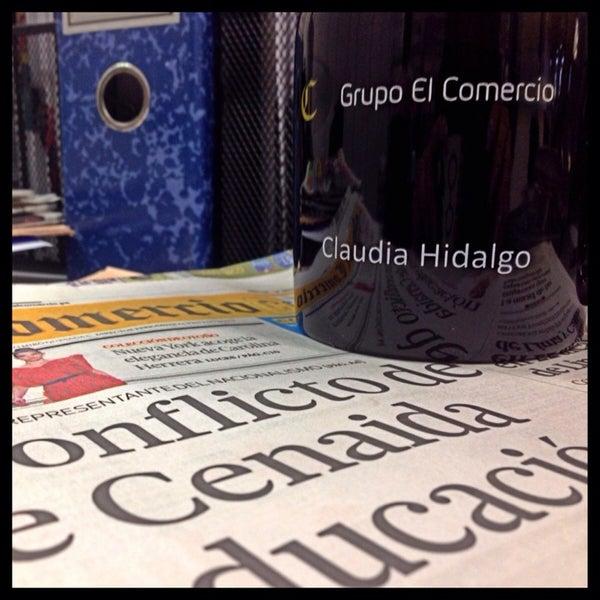 Photo taken at El Comercio by Claudia H. on 2/12/2014