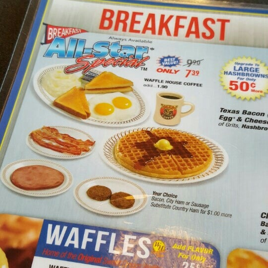 Photo taken at Waffle House by Feryl F. on 4/3/2016