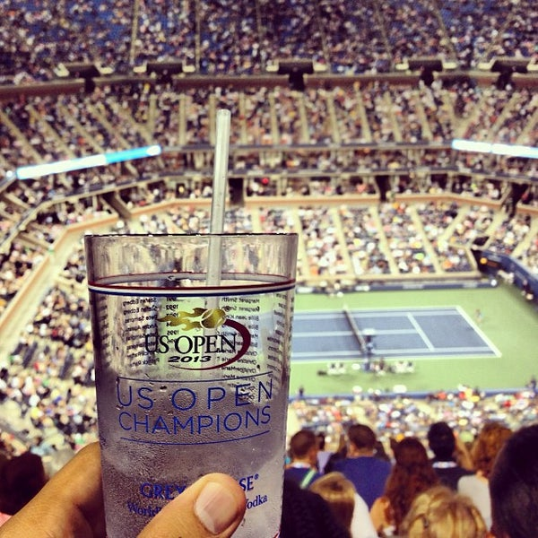 Photo taken at US Open Tennis Championships by Ron V. on 9/2/2013