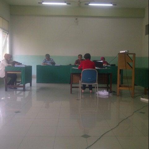 Photo taken at Institut Ilmu Sosial dan Ilmu Politik (IISIP) by Djony H. on 8/3/2013