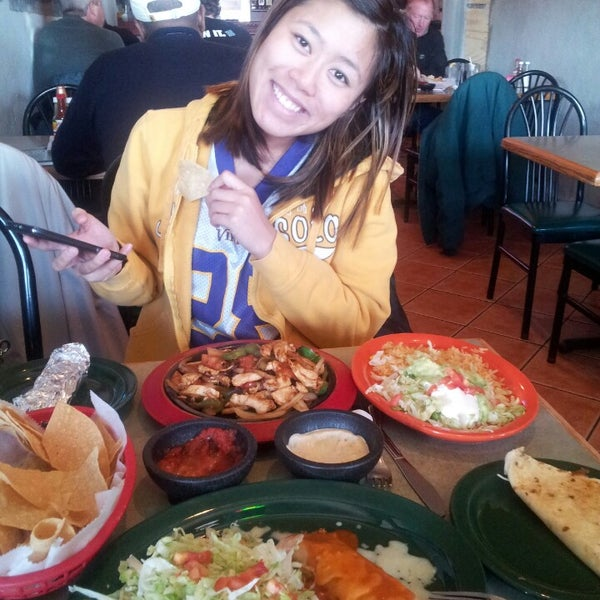Photo taken at Rey Azteca Mexican Restaurant by Ilene L. on 10/25/2013