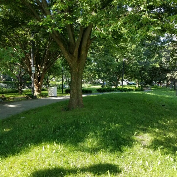 Photo taken at SW Corridor Park - Back Bay by joseph r. on 6/13/2016