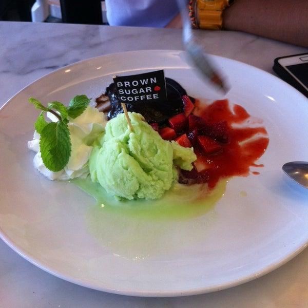 Photo taken at brown sugar cafe by Chorpakamas B. on 3/7/2015