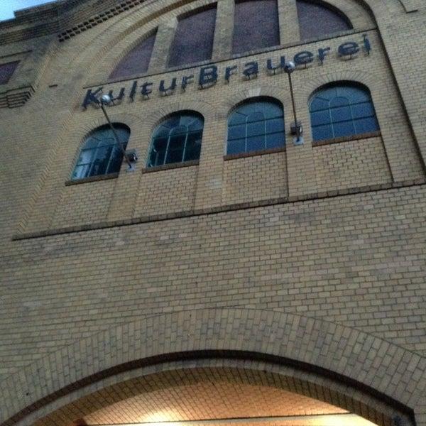 Photo taken at Kulturbrauerei by Gabriele K. on 7/1/2013