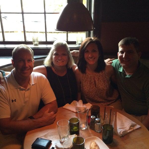 Photo taken at JoJo Bistro & Wine Bar by Lisa S. on 7/5/2015