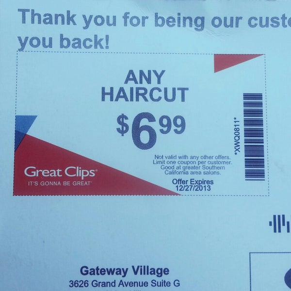 How to use a Great Clips coupon Great Clips provides quality no appointment haircuts for the entire family. You can use the store locator service on their website to find a location near you. Great Clips has a