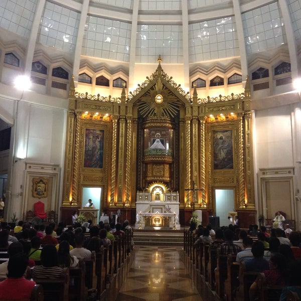 Photo taken at National Shrine of Our Lady of Peace and Good Voyage (Antipolo Cathedral) by Carlos M. on 9/26/2015