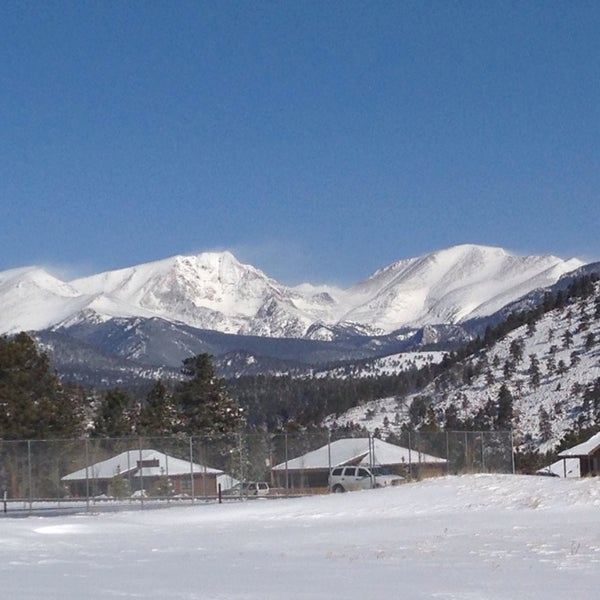 Photo taken at YMCA of the Rockies by Gerald M. on 3/23/2014